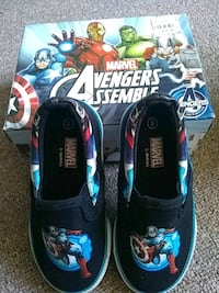 Marvel captain America boys size 8 shoes St. Catharines