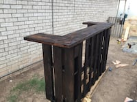Stained Outdoor pallet bar El Paso, 79907