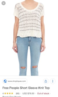 Free people size small  Laval, H7G 0E7