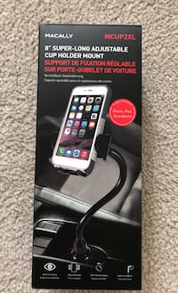 "8"" Cup Holder Mount for iPhone Bear, 19701"
