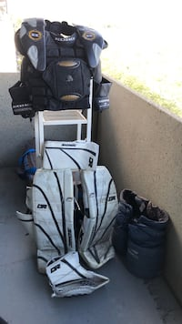 Hockey Goalie Equipment - full set Edmonton, T5H 3S3