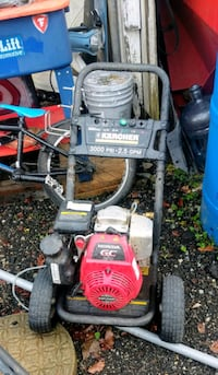 red and black push mower Langley, V2Y 2C6