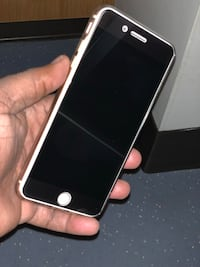 Gold iPhone 8s Plus with spy glass protector Birmingham, 35233