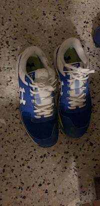 pair of blue-and-white Nike running shoes Saluda, 23149