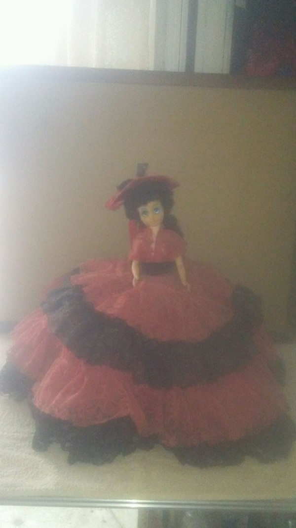 Vintage victorian style doll