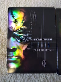 Star Trek Borg Fan Collection Dvd's West Valley City