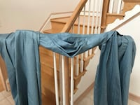 Floor length draperies w/ attached valance Baltimore, 21237