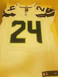 Authentic Marshawn Lynch Away Seahawks Jersey