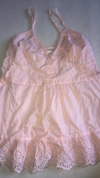Pink tank top size small