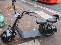 black and gray kick scooter Acton, W3