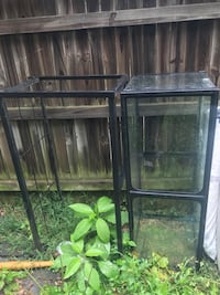 75 gallon fish tank and metal stand  Hyattsville, 20783