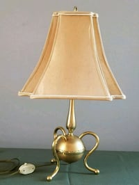 Vintage one of a kind brass lamp Toronto, M6R 2C7