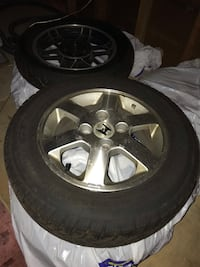 195/65 r15 tires and rims Waterdown, L8B 0B3