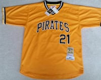 orange Pirates 21 jersey