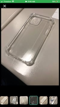 (New) IPhone 11 Pro - Crystal Clear Case Toronto, M1W 2Z9