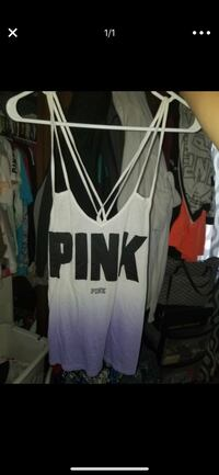 white and black tank top Grove City