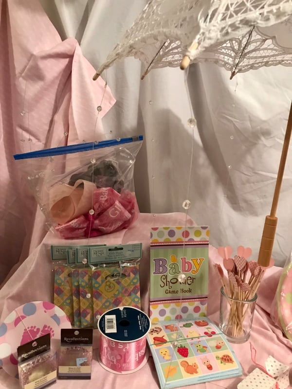 Baby Shower Girl, many handmade items d7ad2563-41c5-4a8e-98d1-dcea15d7f6b2