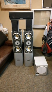 gray and black home theater system Citrus Heights, 95621