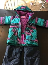 Girls winter jacket and snowpants