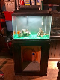 20gl Fish Tank with Stand & Accesories  Burbank, 60459