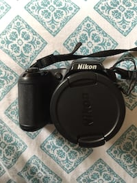 Nikon Coolpix L810 with accessories