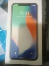 New IPhone X 256g brand new in box at&t Anchorage, 99504