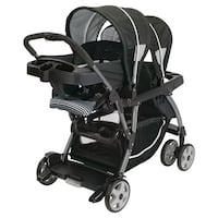 Graco baby's black and gray double stroller Los Angeles, 90038