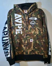AAPE army camo w/ silver detailing Vancouver, V5R 1Z4
