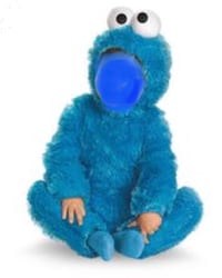 COOKIE MONSTER COSTUME 6-12 Vaughan, L4H 0V5