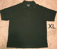 Like New 5.11 Tactical Series Men's X-Large Green Polo Shirt (No Roll Collar, Pen Slot, Fade & Shrink Resistant) Visalia, 93292