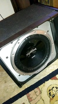 black and gray Pioneer subwoofer Fontana, 92335
