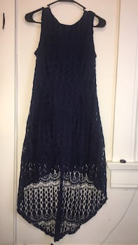 blue lace mullet dress San Francisco, 94115