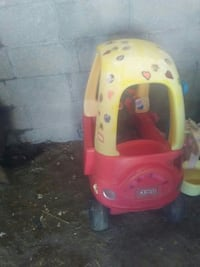 yellow and red Little Tike cozy coupe Reno, 89506