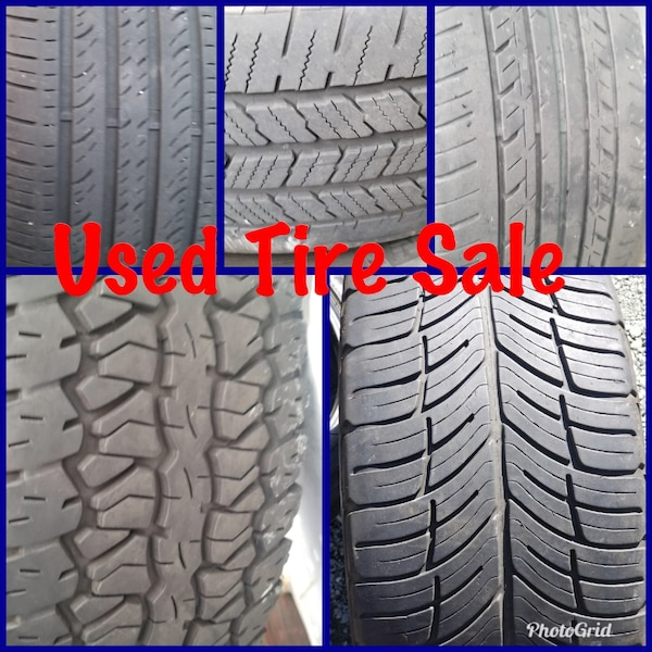 Used Used Tires 70 Various Prices For Sale In Alameda Letgo