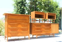 brown wooden dresser and cabinet Maywood, 90270