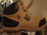 black and brown Polo ASSN. buckled boot Pasadena, 77503
