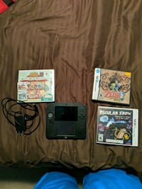 2ds with chargers and 5 games