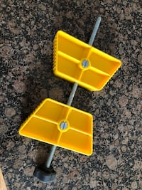 camco wheel stop chock for doubled axles RV trailer camper
