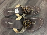 Pair of black-and-brown sandals sz 9 London, N6E 2S9