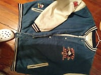 Vintage Mickey mouse denim letterman jacket Washington, 20001