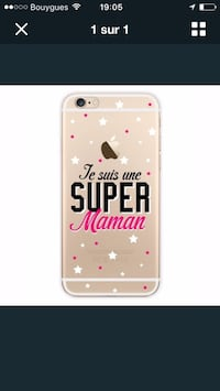 Coque iPhone 5 & 6