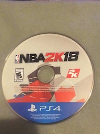 Sony PS4 NBA 2K17 game disc Silver Spring, 20906