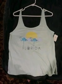 white and black tank top Holladay, 84117