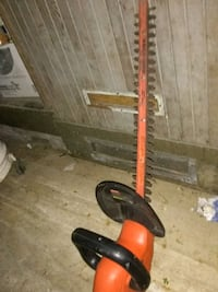orange and black hedge trimmer San Francisco, 94124