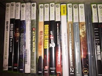 Individual or the lot of Xbox 360 games. Message me with offers.