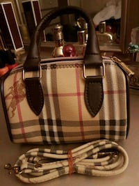 Burberry mini crossbody bag.