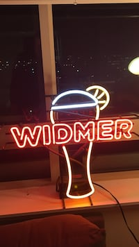 Widmer logo neon sign Fairfax, 22031