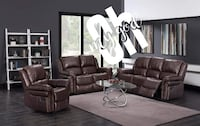 New brown color sofa and lovseat recliner set College Park