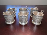 Takht e Jamshid Silver Cup holders