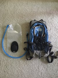 North Face hydration backpack